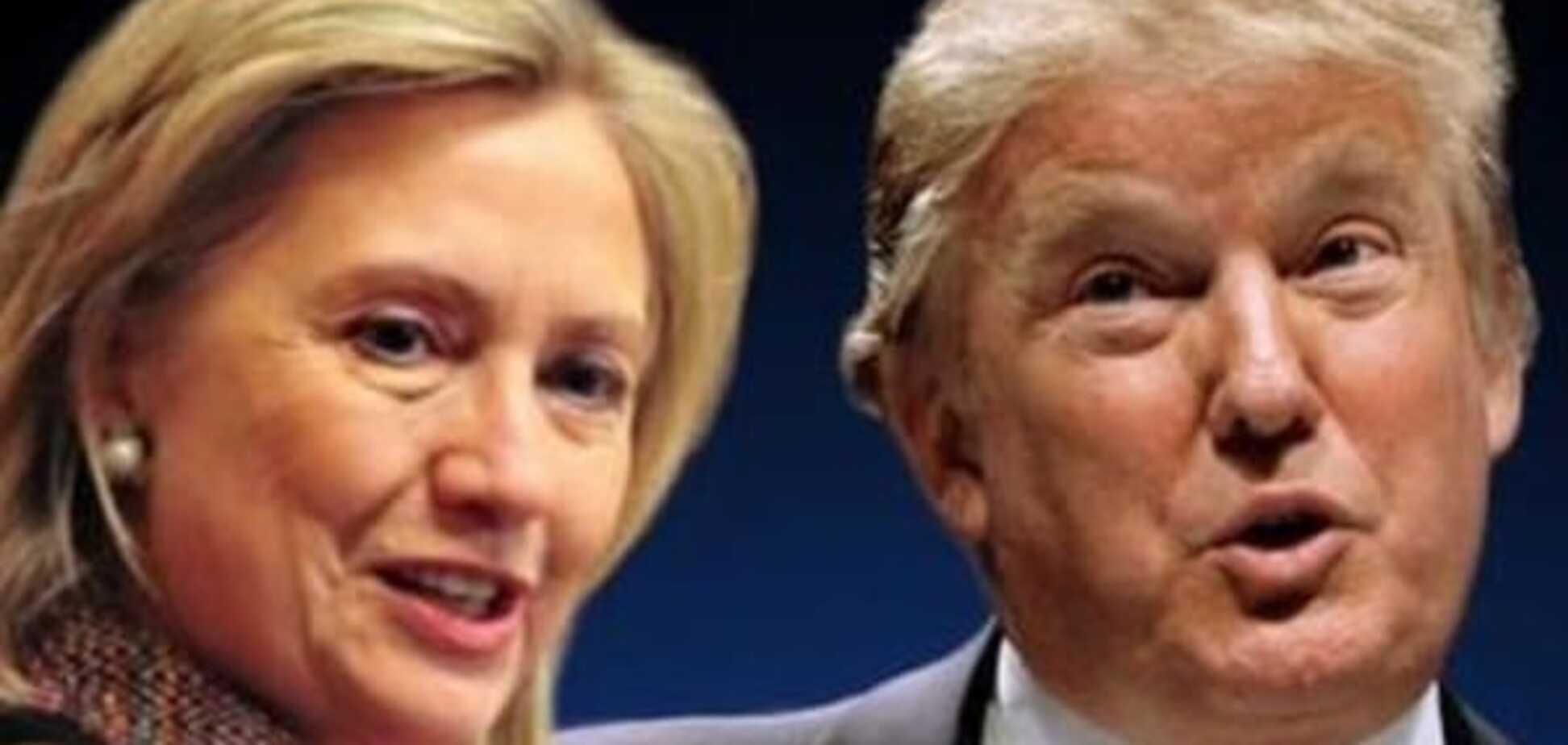 Ясно, что американские кандидаты связаны с Россией