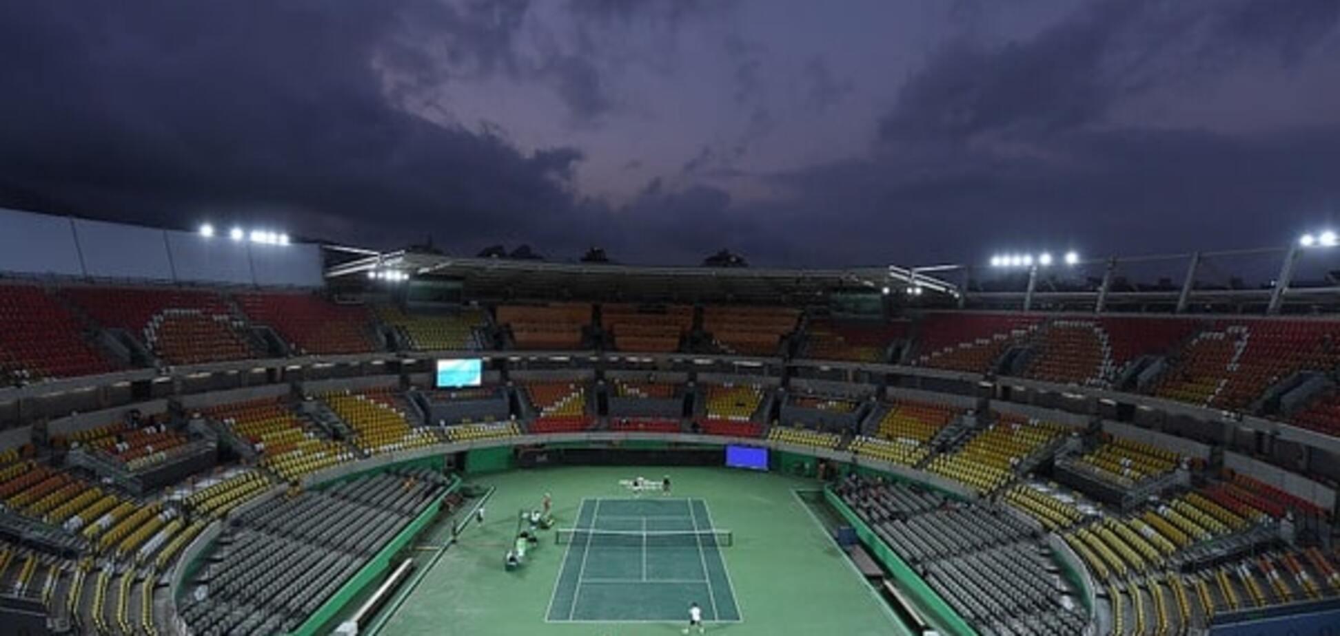 Теннисный турнир в Рио