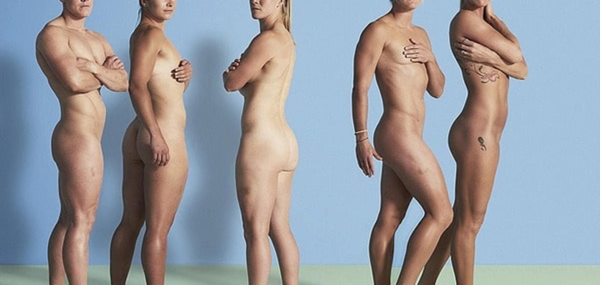 Английские регбистки полностью разделись, чтобы подбодрить спортсменок на Олимпиаде: фотофакт