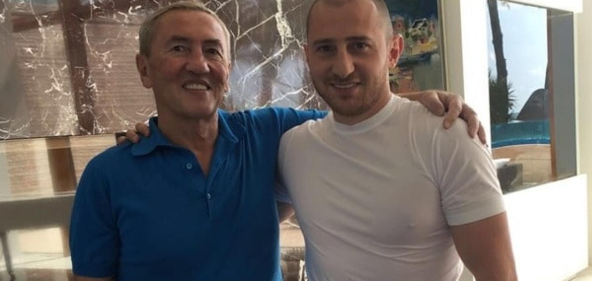 Леонід Черновецький та Степан Черновецький