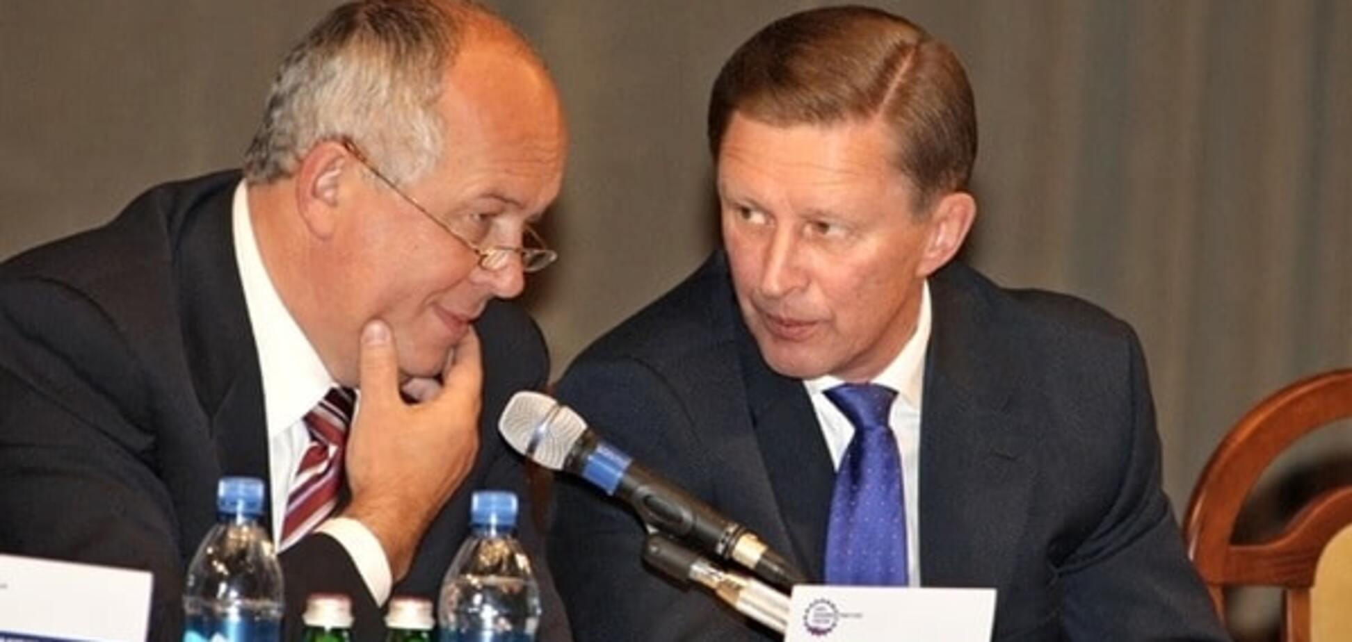 Сергій Чемезов і Сергій Іванов