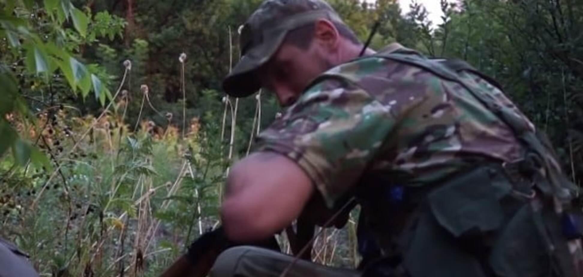 Видео боя под Марьинкой