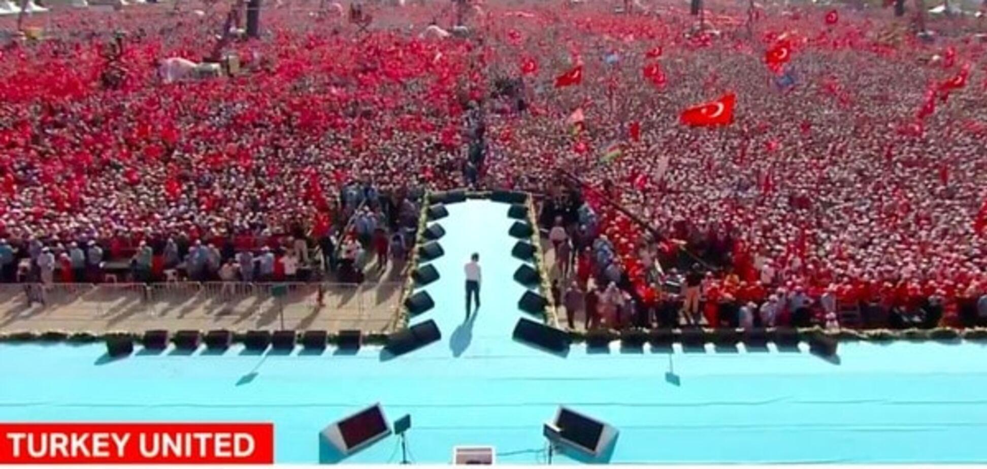 Провладний мітинг у Стамбулі