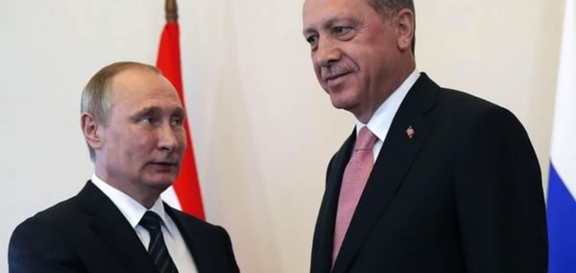 Владимир Путин, Реджеп Тайип Эрдоган