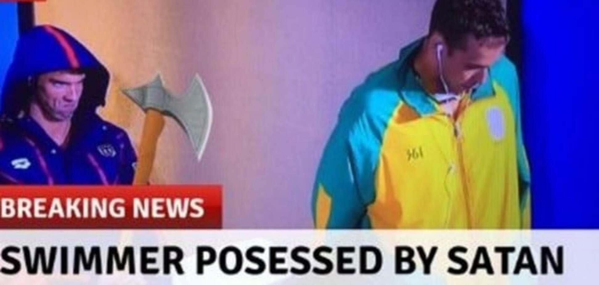 Найтитулованіший спортсмен світу став героєм фотожаб через випадковий кадр на Олімпіаді