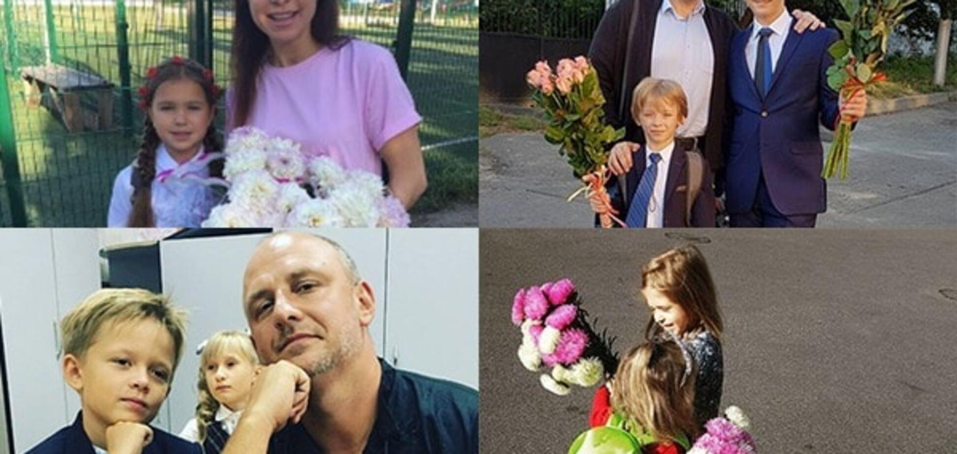 День знаний: украинские знаменитости отвели детей в школу. Опубликованы фото