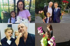 День знань: українські знаменитості відвели дітей до школи. Опубліковано фото