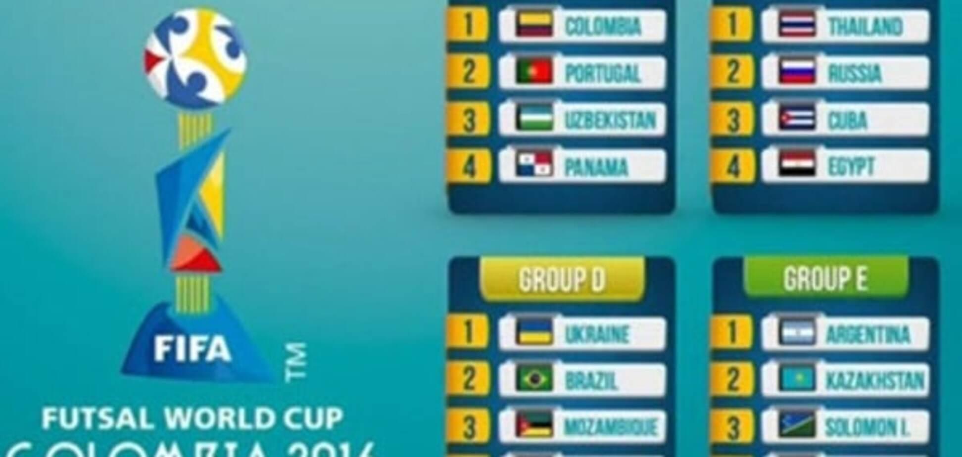 Чемпіонат світу-2016 з футзалу: розклад, результати, таблиці