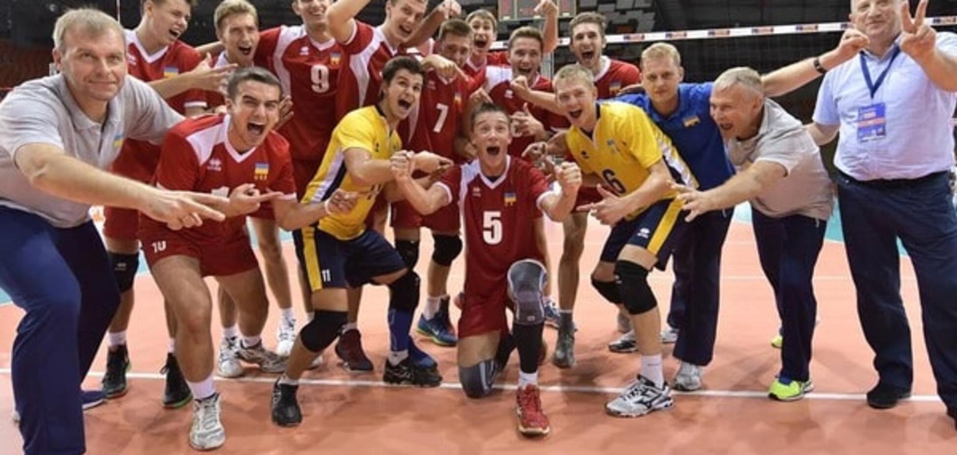 Украина выиграла 'серебро' чемпионата Европы по волейболу