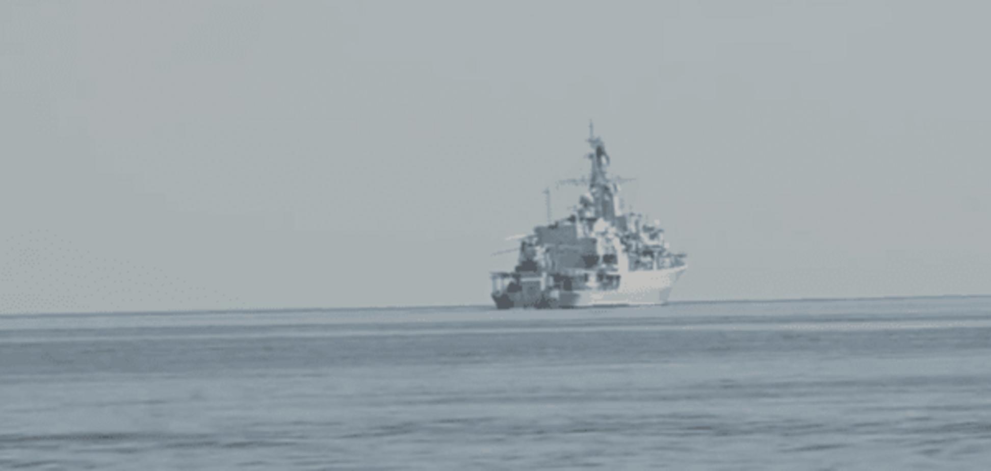 Тактика вовчої зграї: у мережі показали, як український флот розправився з російським кораблем