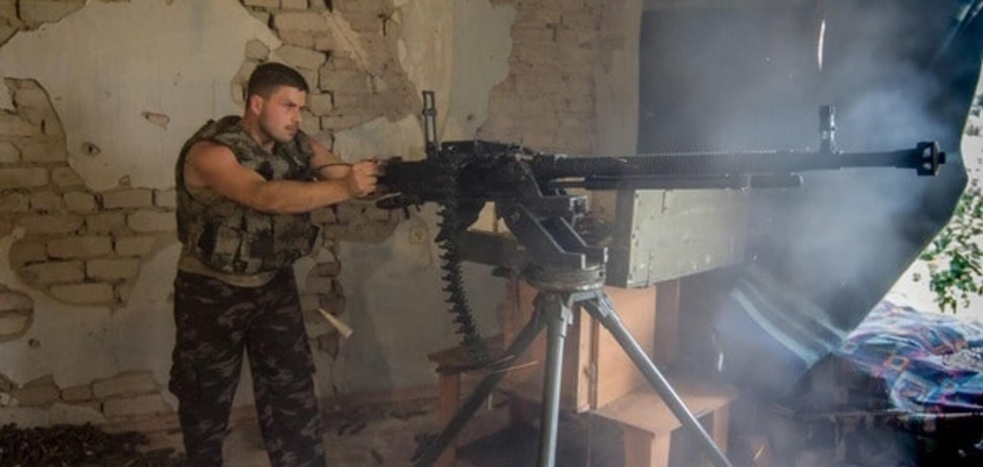 Сили АТО вступили у бій із терористами у районі Саханки