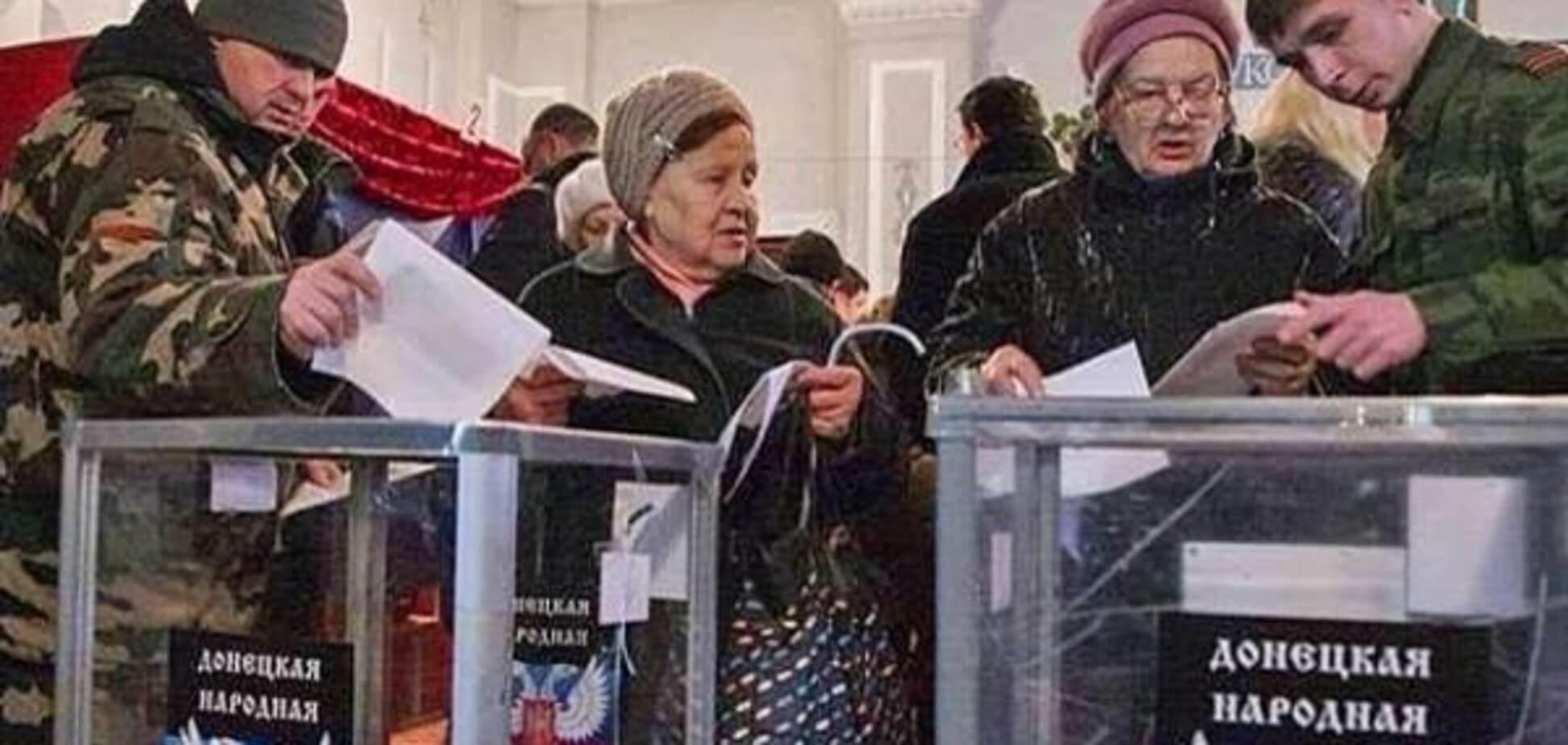 На 'вибори' у 'ДНР' йдуть колишні члени Партії регіонів - ЗМІ