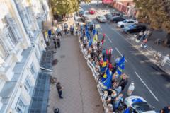 Суд принял решение по Сиротюку и Ко под протесты 'Свободы': опубликованы фото