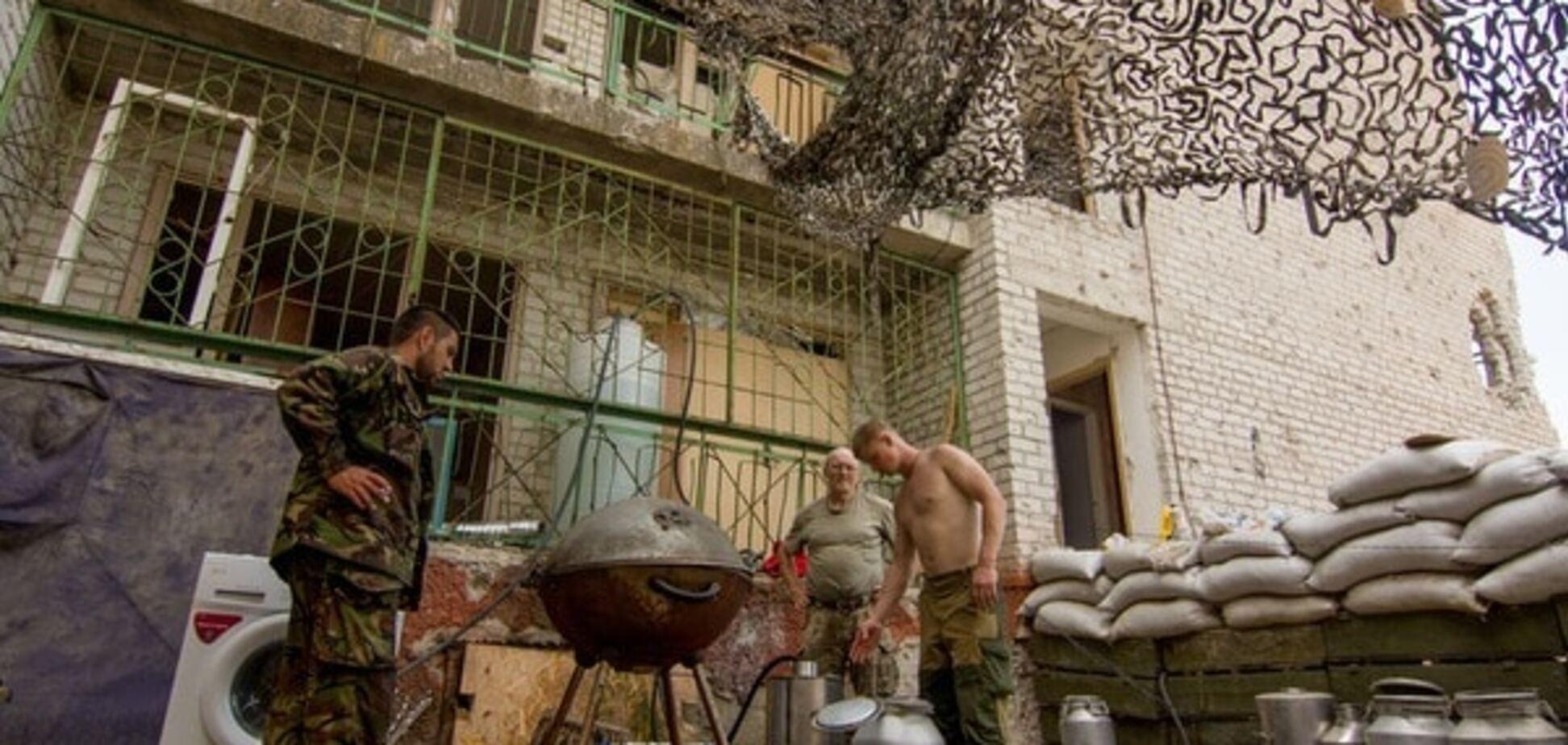 Террористы обстреляли бойцов АТО в Чермалыке из запрещенной артиллерии