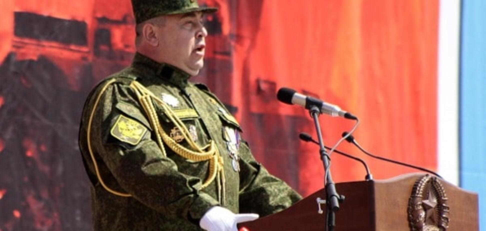 Главарь 'ЛНР' объявил 'односторонний режим тишины'