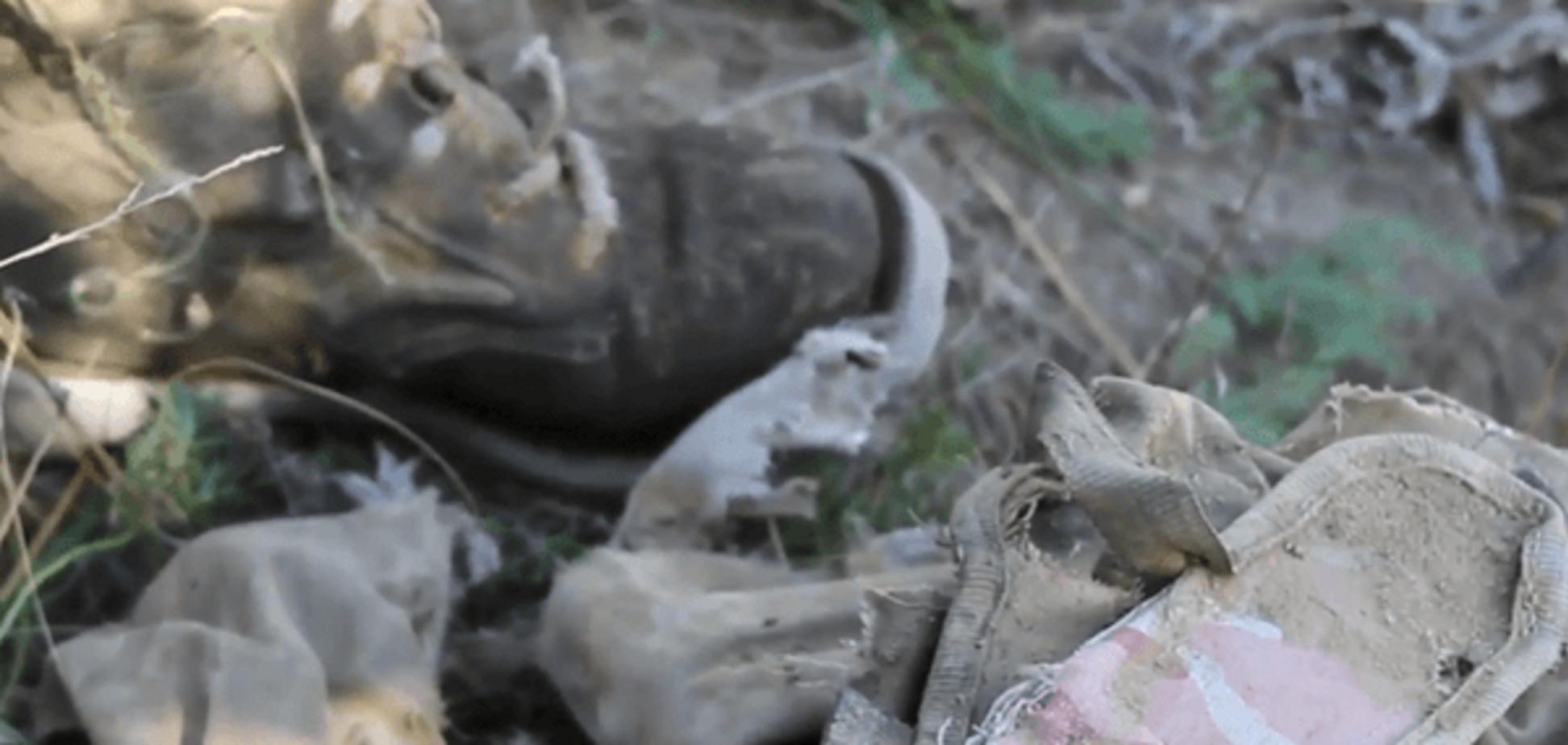 У 'ЛНР' опублікували відеозапис із тілом нібито українського військового