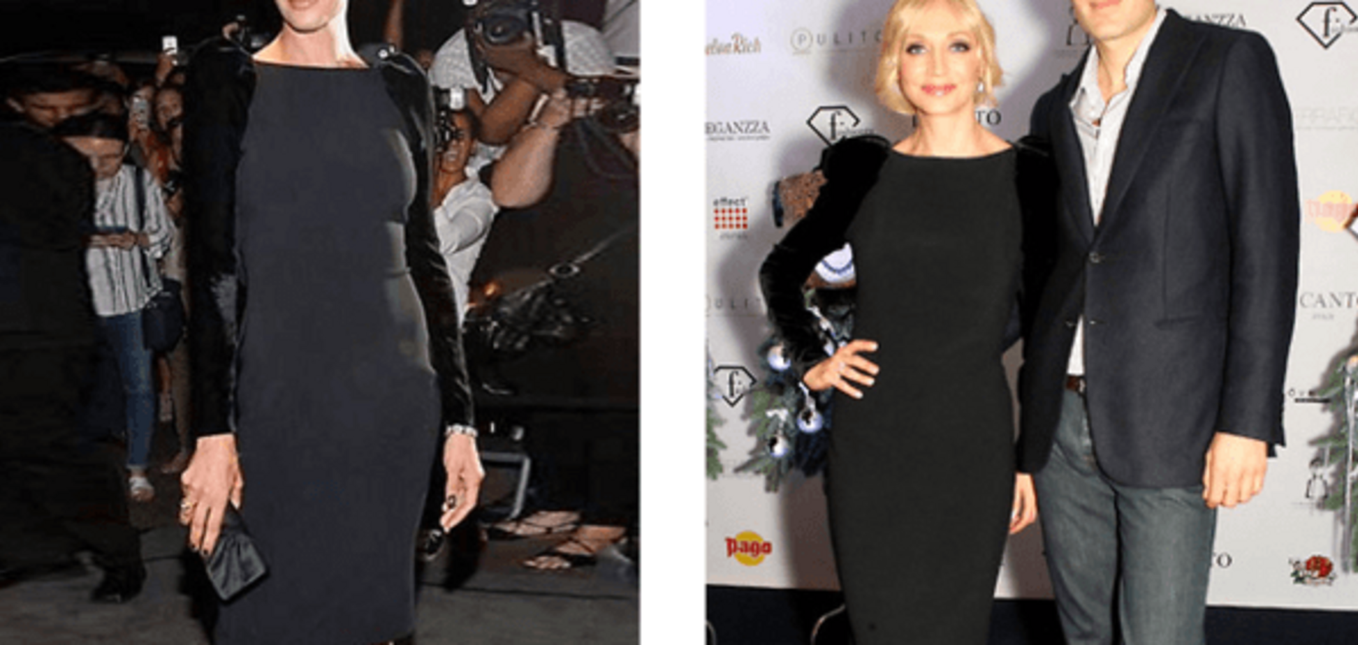 Ума Турман і Христина Орбакайте покрасувалися однаковими сукнями