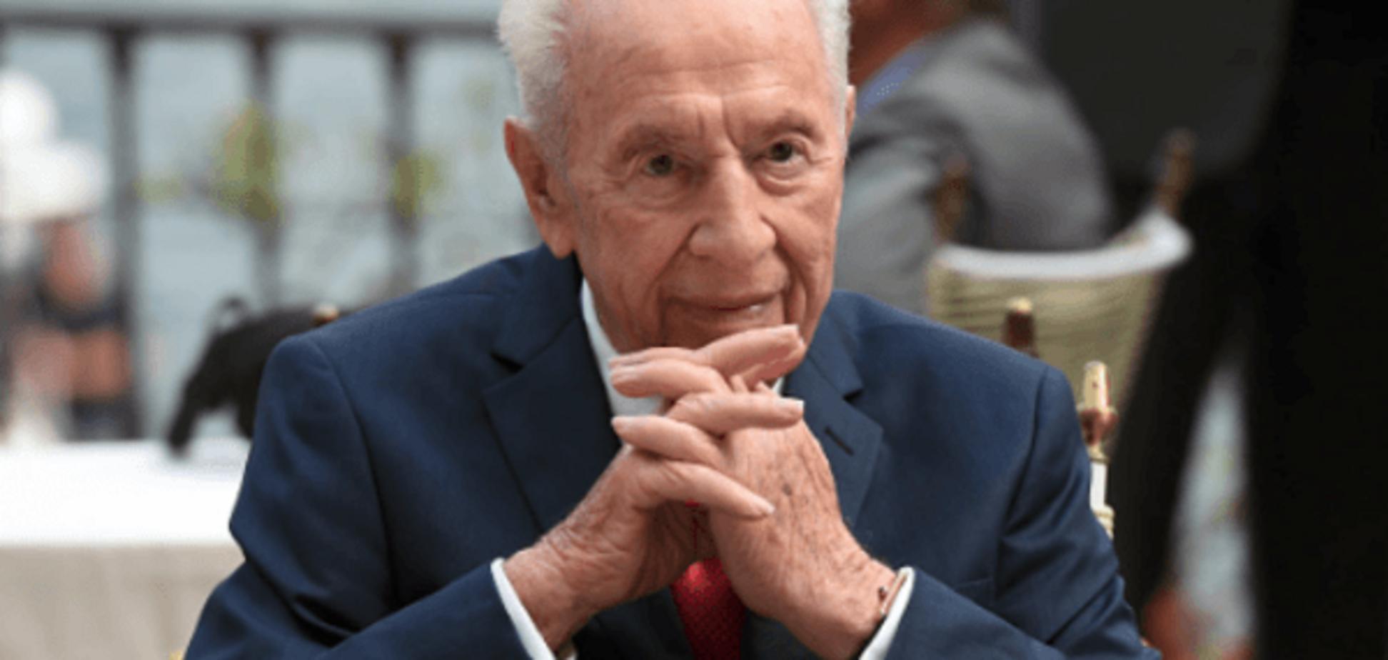 Находится в коме: экс-президента Израиля Переса госпитализировали