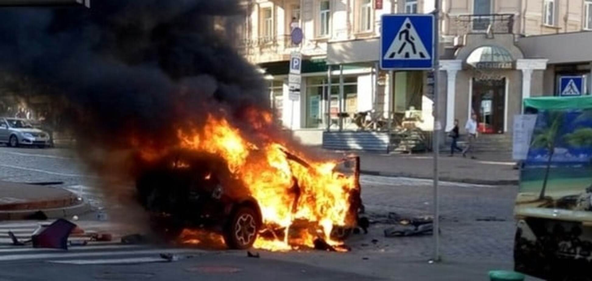 Поліція знайшла місце розташування підривника автомобіля Шеремета