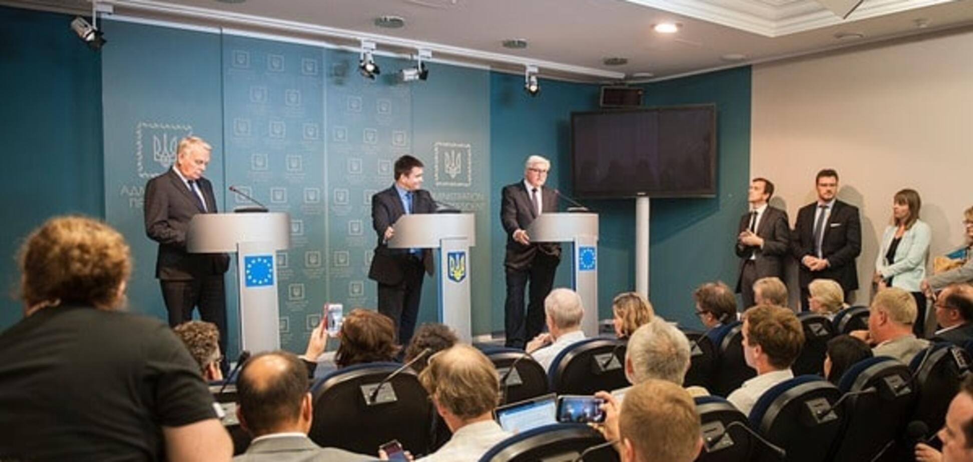 Штайнмайер о выборах в Крыму: мы не признаем аннексию полуострова
