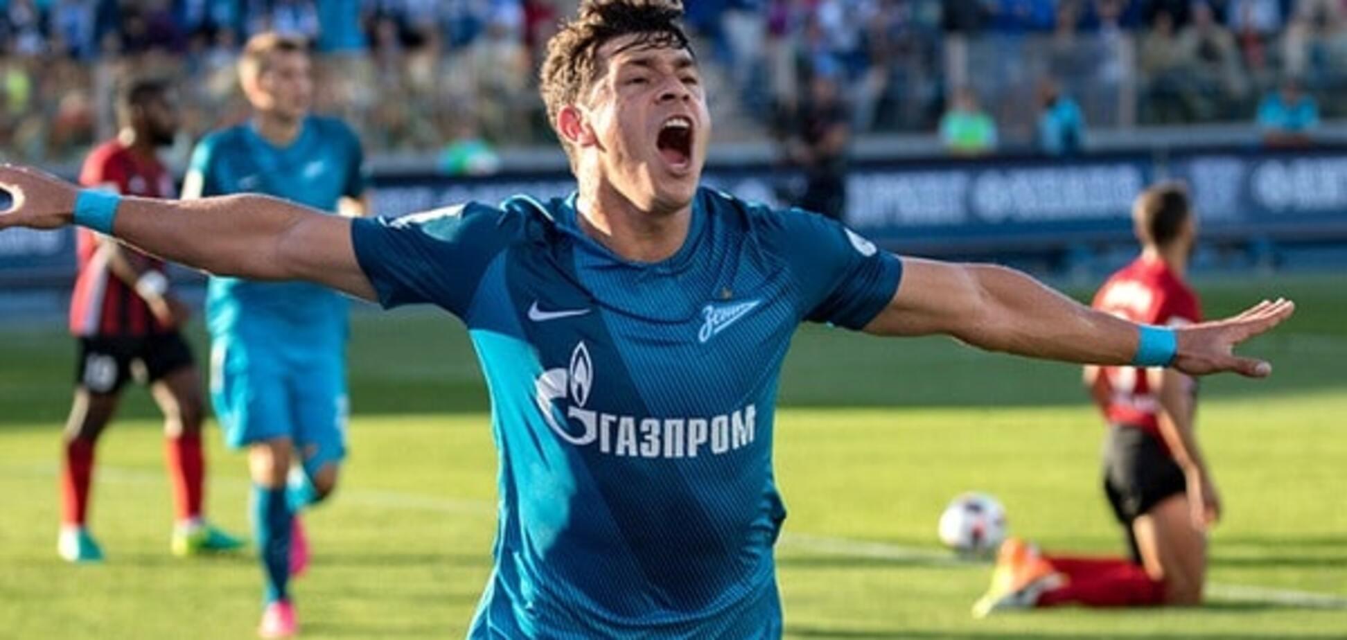 'Зенит' Луческу добыл победу в Лиге Европы, проигрывая 0:3 за 15 минут до конца матча: видеообзор