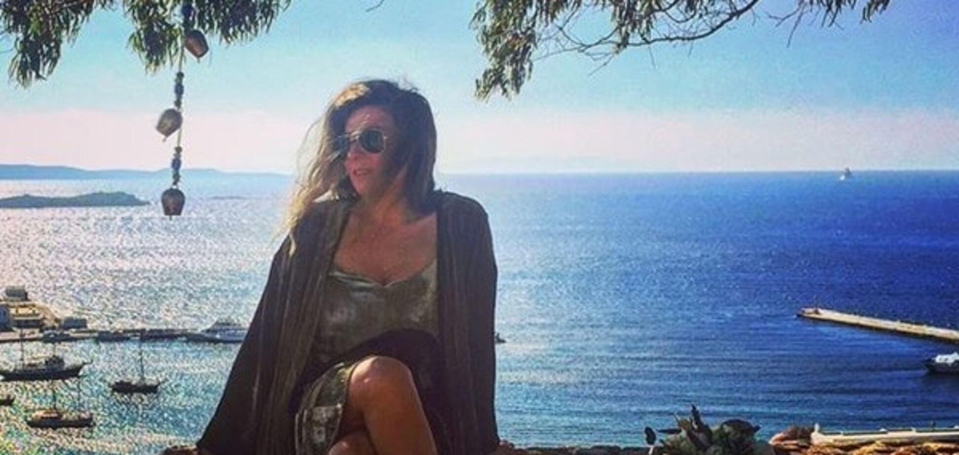 Когда работа в радость: Жанна Бадоева показала счастливые мгновения в Греции