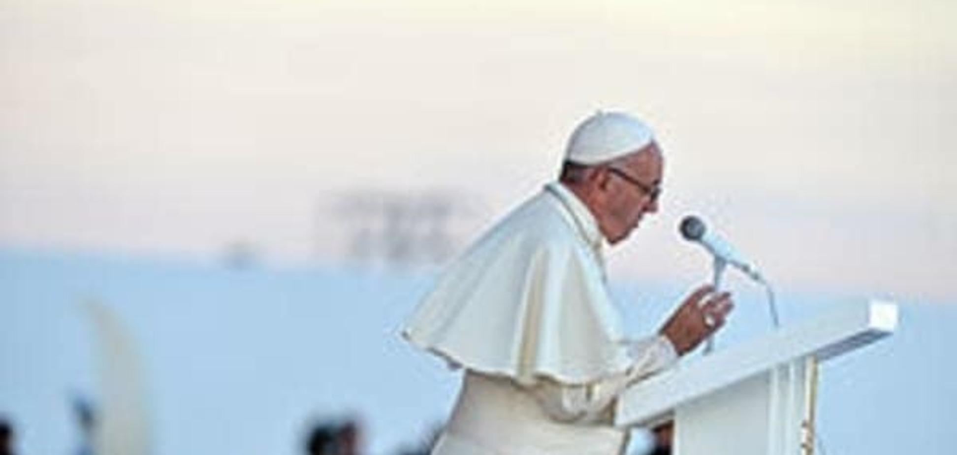 'Мы пришли в мир, чтобы оставить след'. Обращение Папы Франциска к молодежи