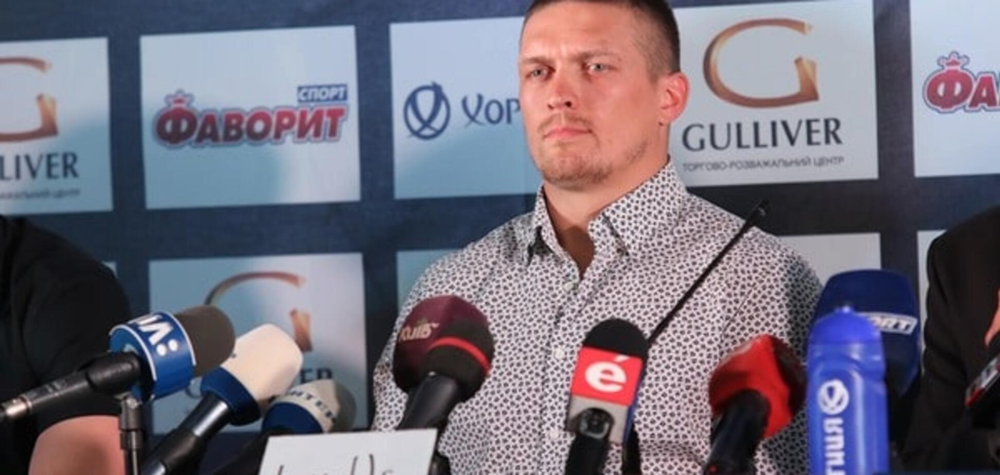 'Без будильника': Усик розкрив свої чемпіонські плани перед боєм із Гловацьким