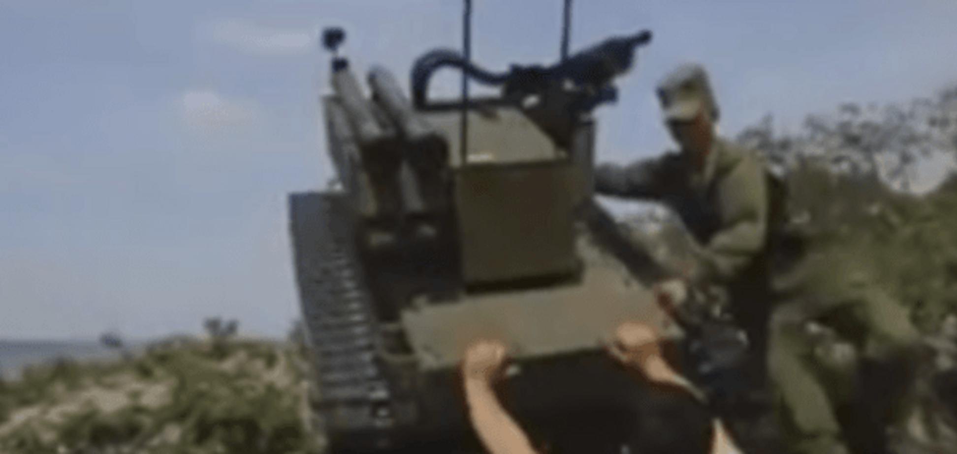 Боевые роботы Мордора: сеть 'порвало' эксклюзивное видео самоатаки пропагандистов России