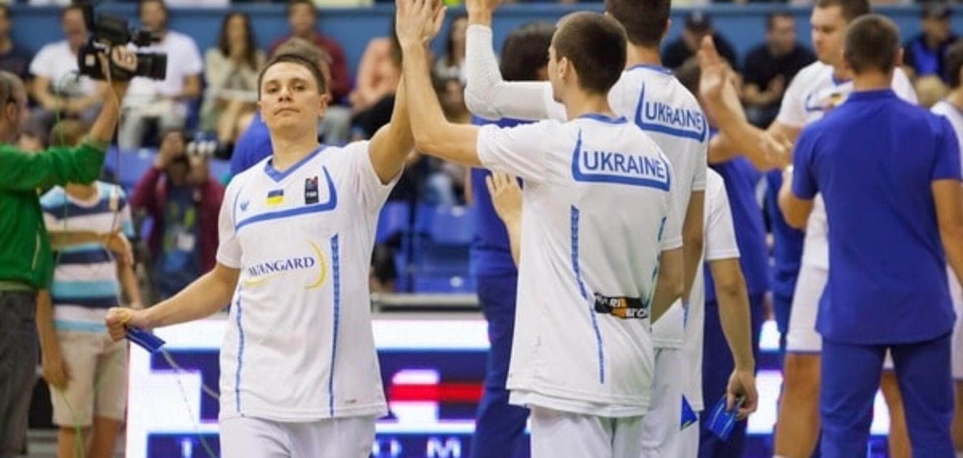 Украина вышла на Евробаскет-2017