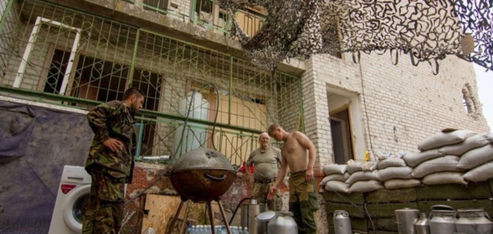 Гранатомети і кулемети: терористи атакували бійців АТО у районі Авдіївки