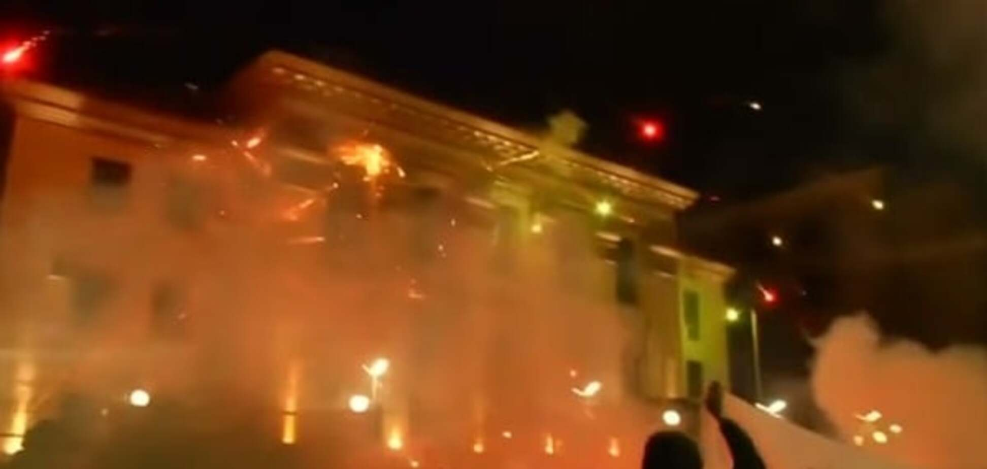 'Завтра будут Грады': стало известно, кто обстрелял посольство РФ в Киеве