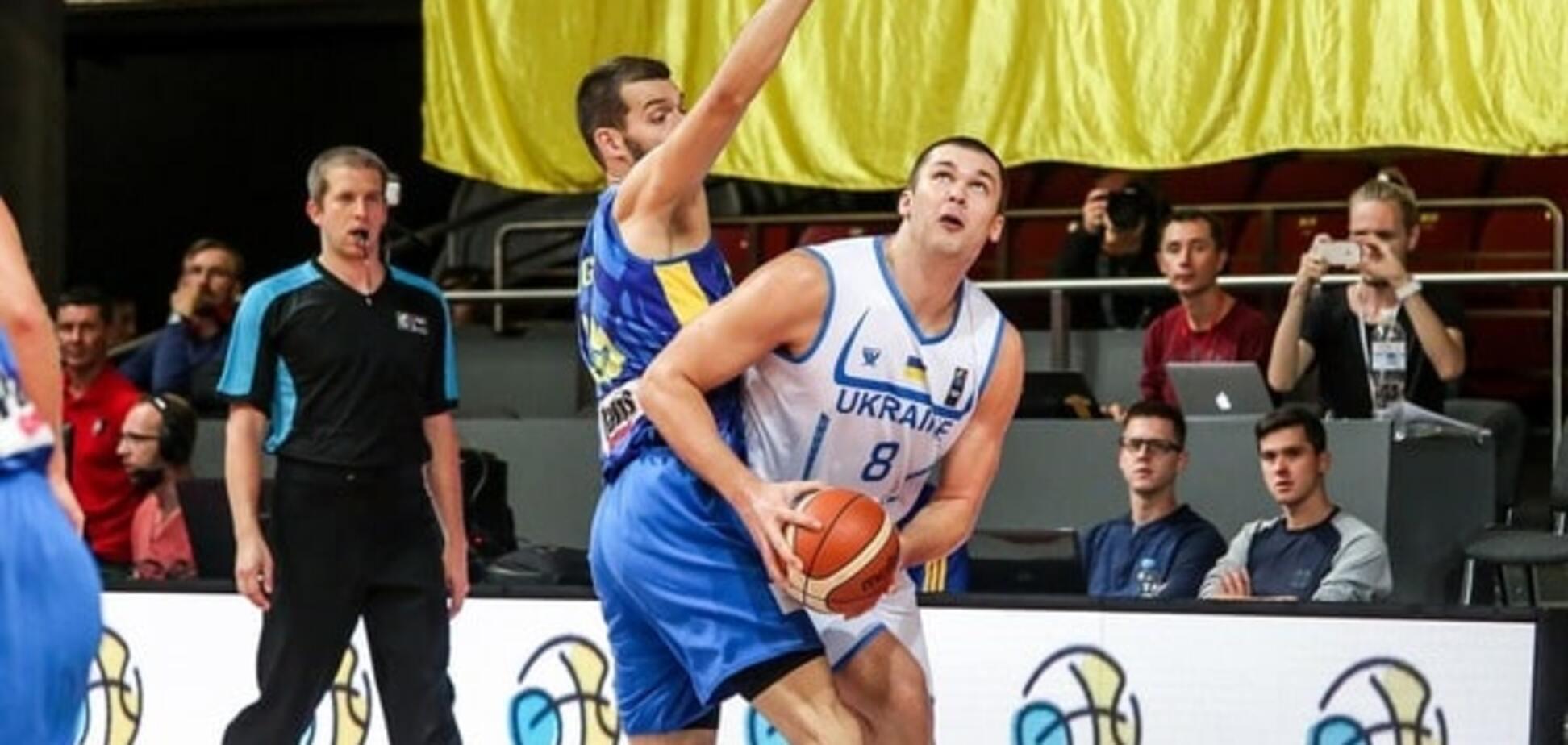 Украина проиграла Словении в отборе на Евробаскет-2017