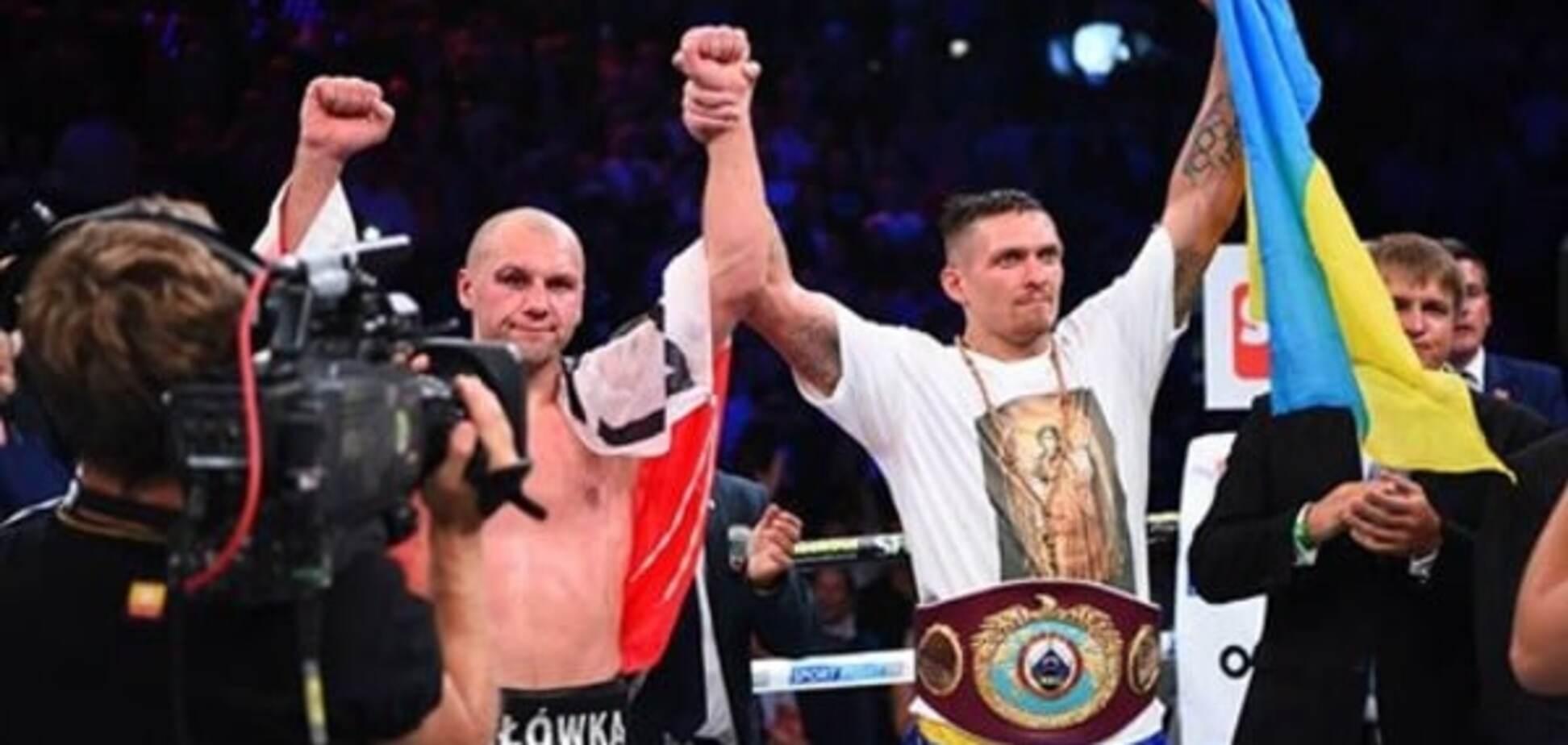 'Не разрешили подраться': как Усик стал чемпионом мира