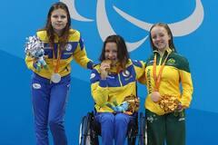 Україна зі світовим рекордом виборола три 'золота' на Паралімпійських турнірах із плавання