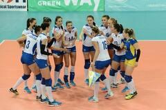 Украина добыла вторую победу в квалификации чемпионата Европы по волейболу