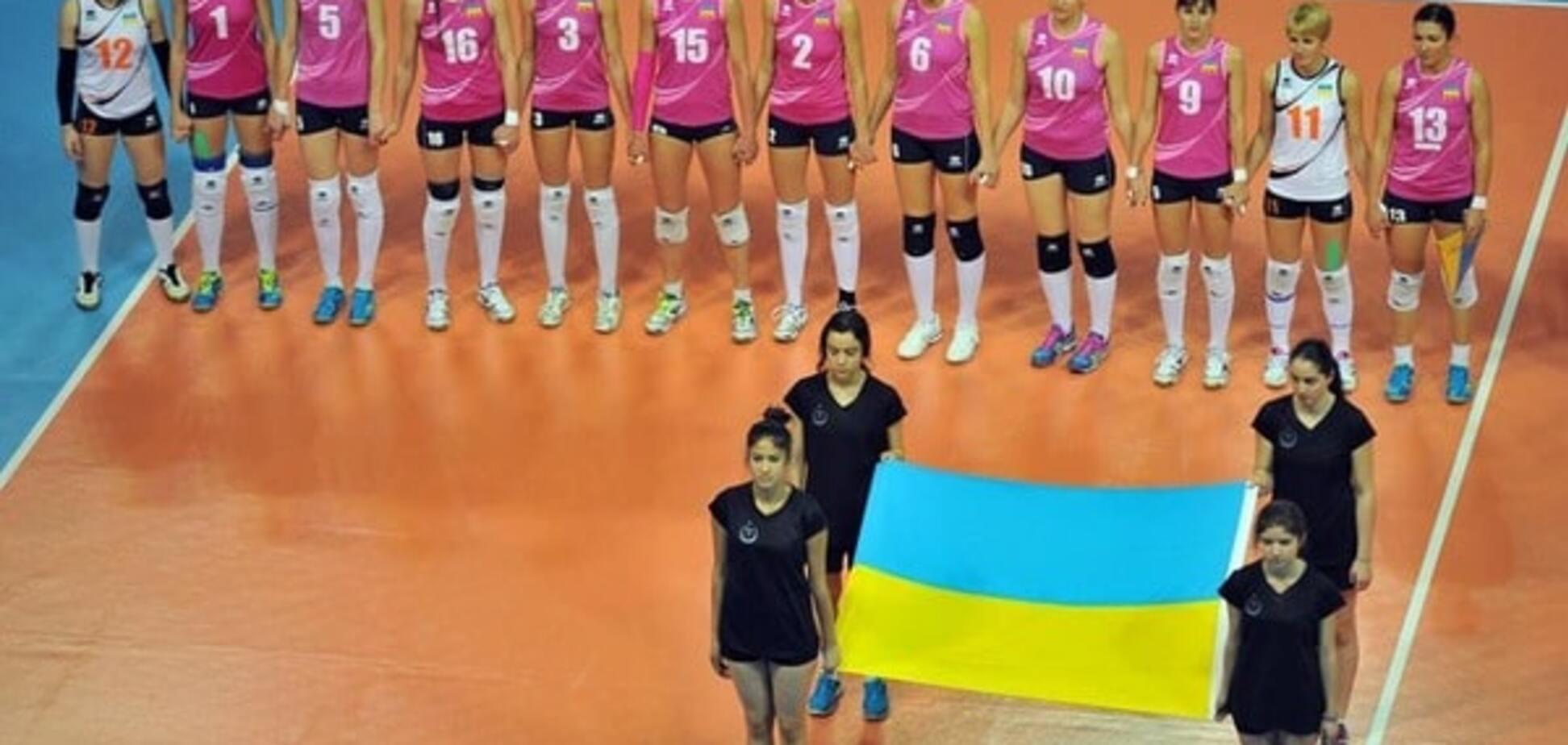 Украина с победы стартовала в квалификации на чемпионат Европы по волейболу