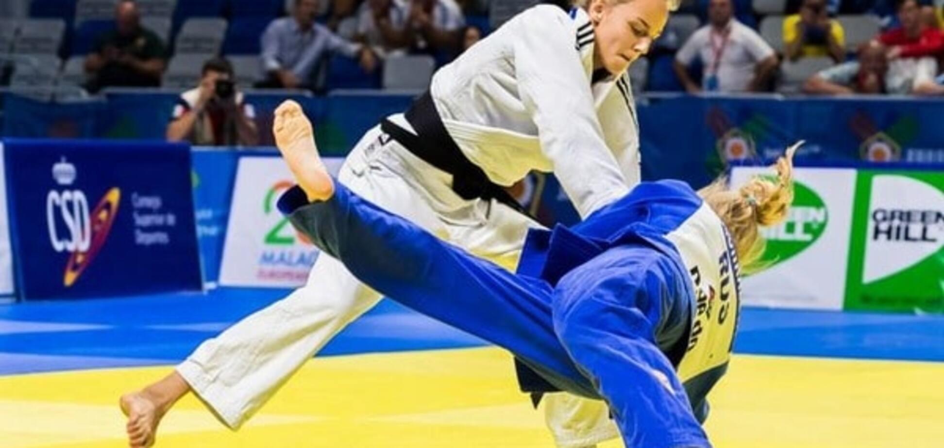 Украинская дзюдоистка-вундеркинд выиграла чемпионат Европы, одолев россиянку