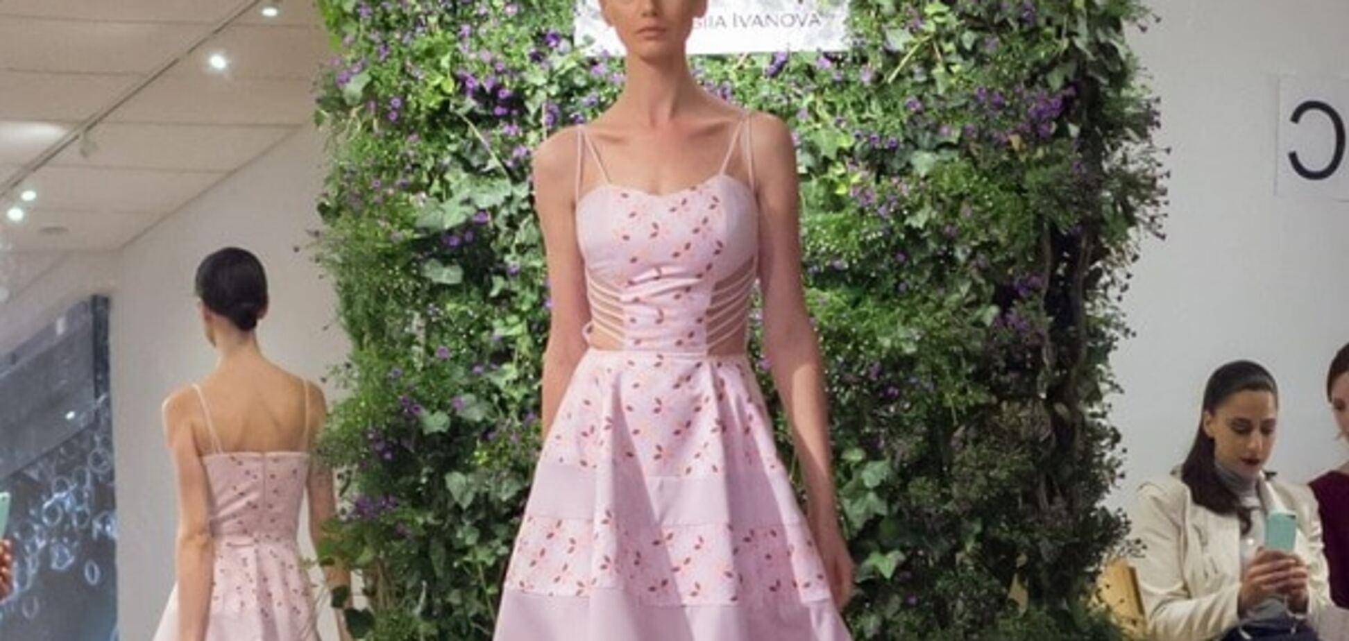 В ожидании весны: украинский дизайнер презентовала коллекцию воздушных платьев