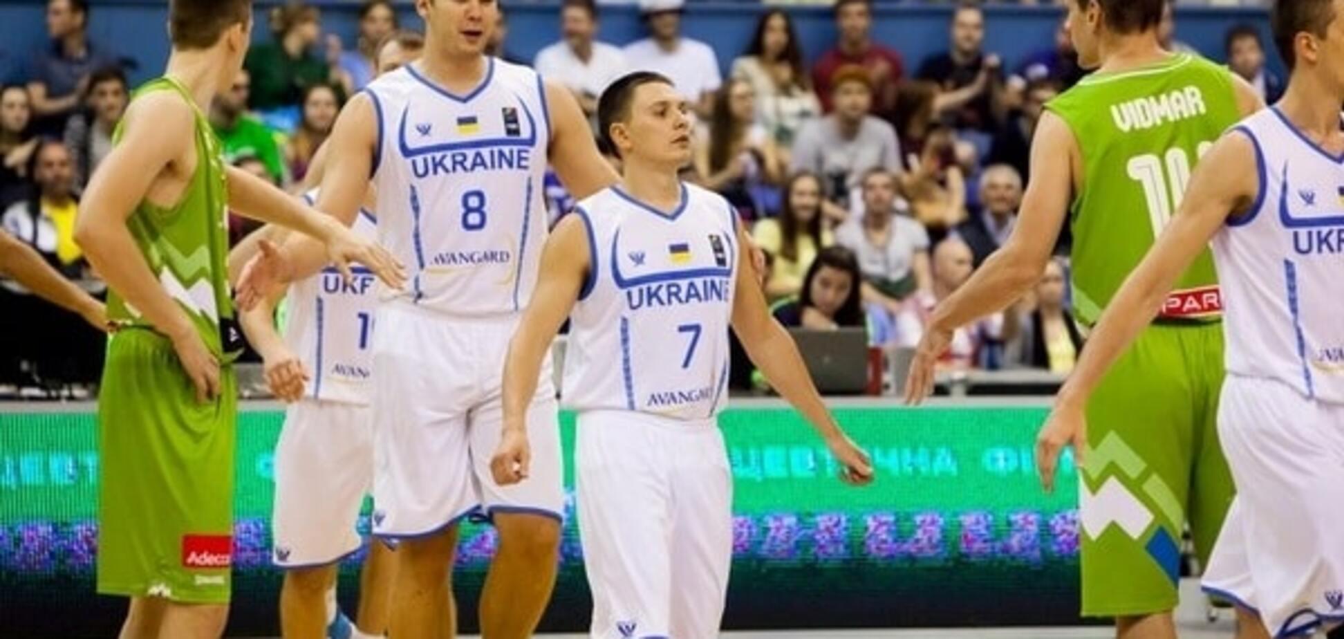 'Сумасшедший баскетбол': капитан сборной Украины объяснил поражение от Словении в отборе на Евробаскет-2017