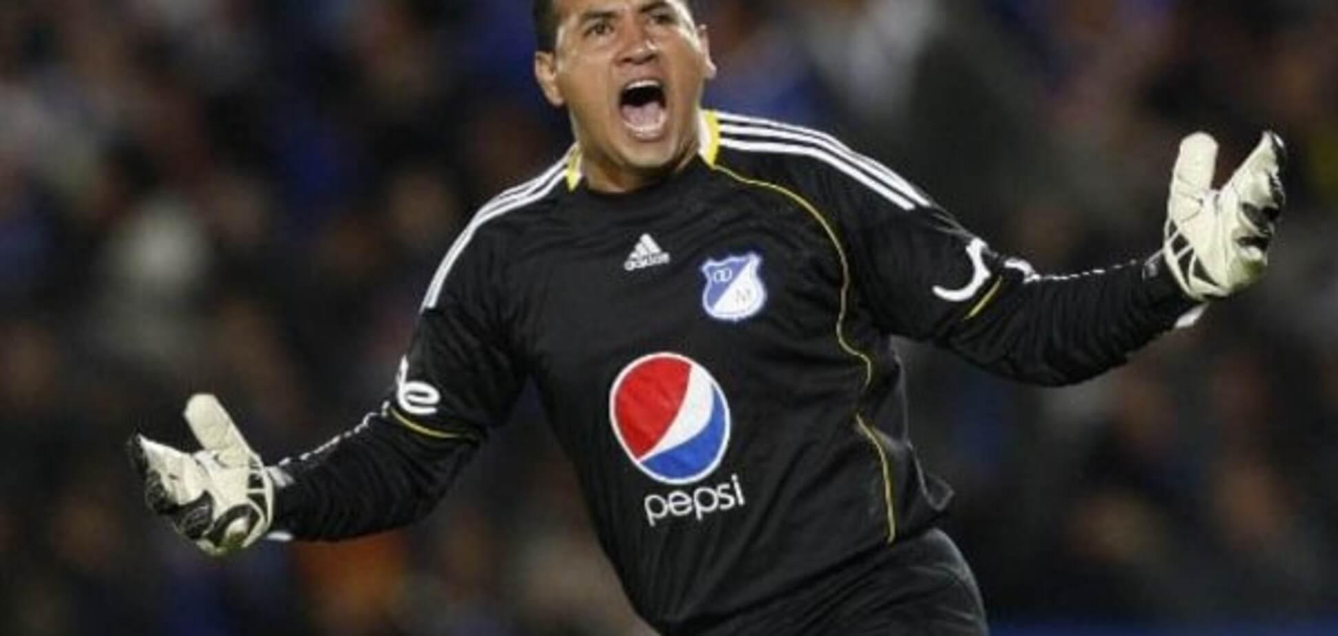 Колумбійський воротар забив розкішний м'яч і віддав гольову передачу