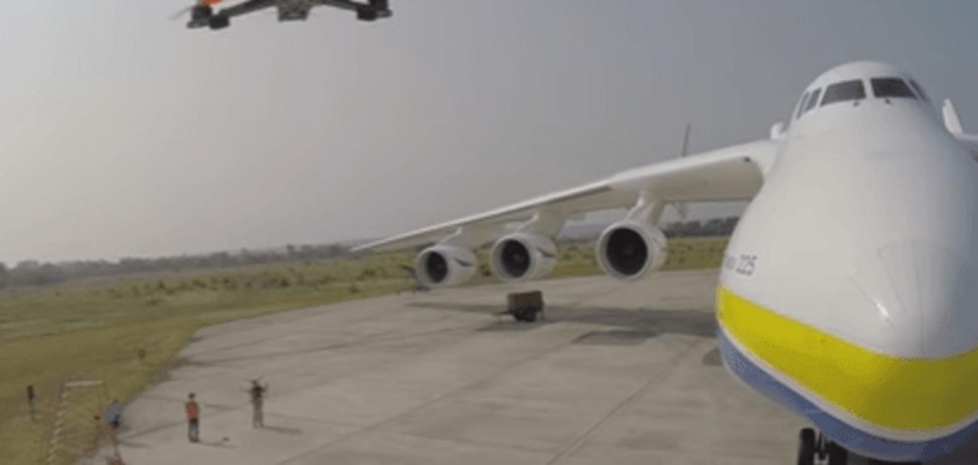 Зверху, знизу і в ньому: американці дронами зняли видовищне відео про літак-гігант 'Мрія'