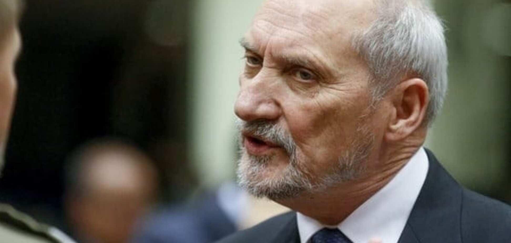 Антони Мацеревич, глава Минобороны Польши