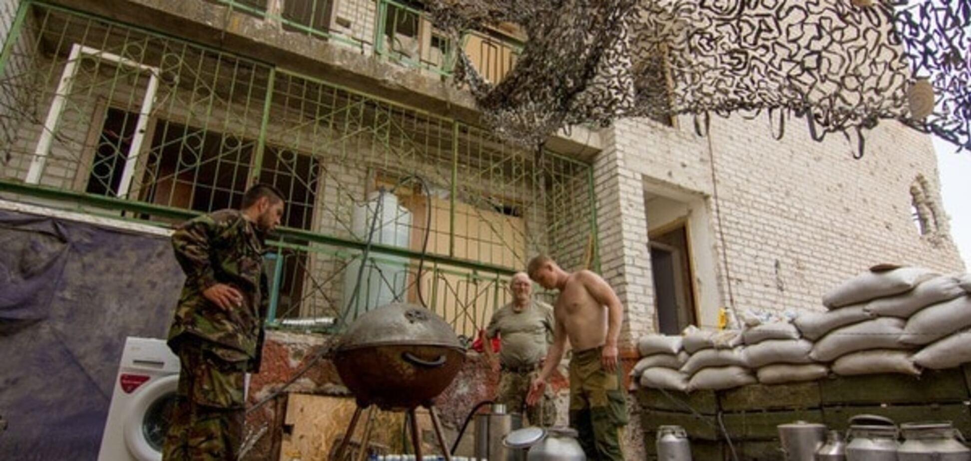 БМП, гранатомети і міномети: терористи атакували бійців АТО у Зайцевому