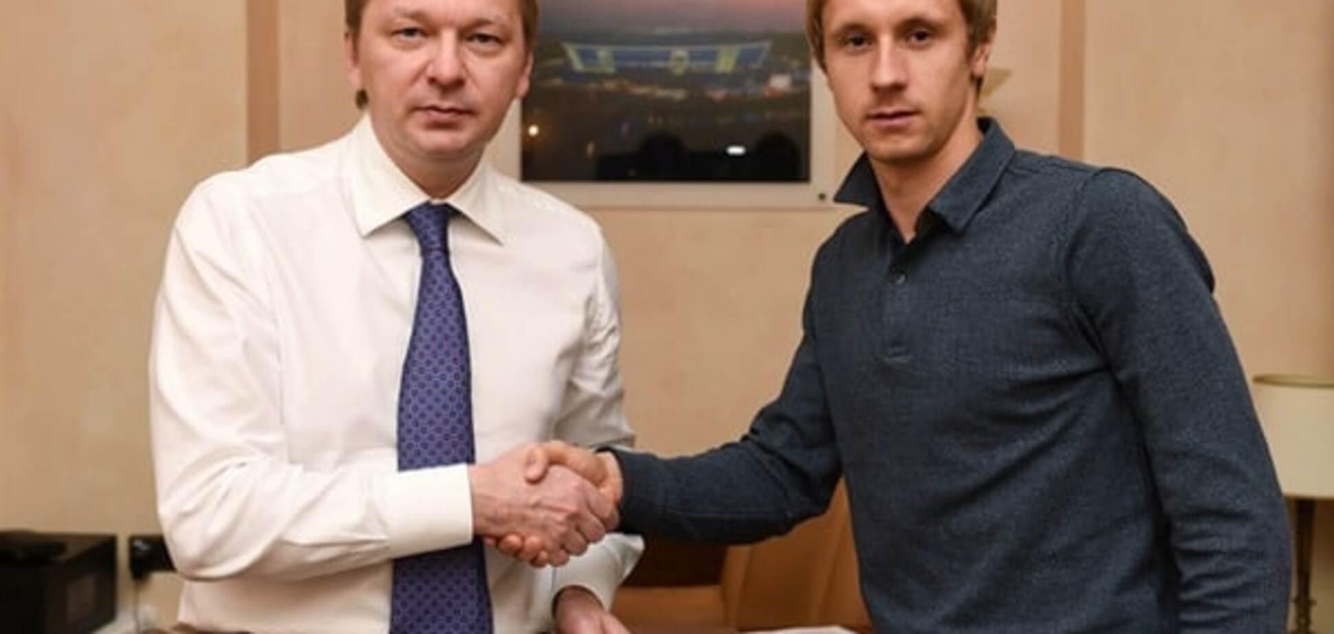 Официально: 'Шахтер' подписал долгосрочный контракт с футболистом сборной Украины