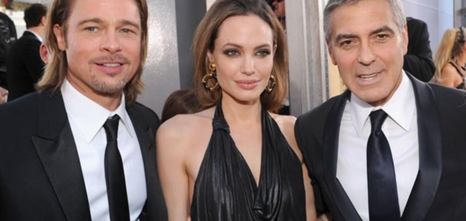 Развод Анджелины Джоли и Брэда Питта прокомментировал Джордж Клуни