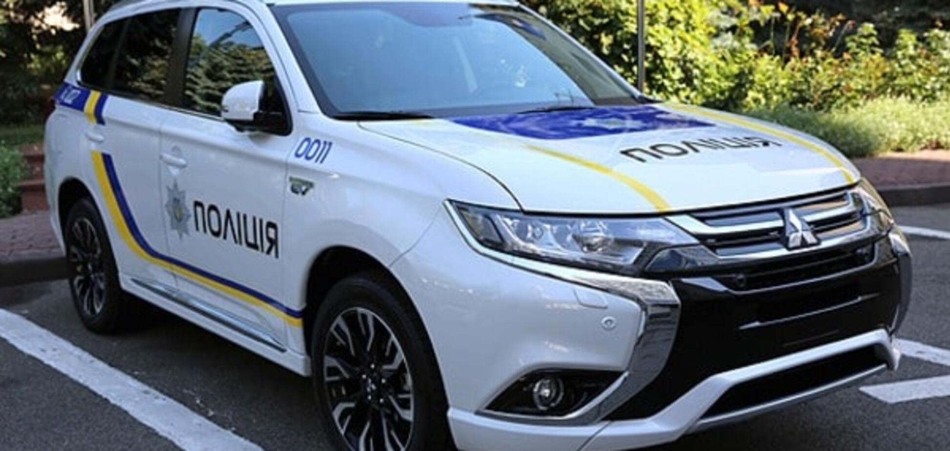 На 'киотские деньги': полицию снабдят 650 гибридными Mitsubishi Оutlander. Фото и видеофакт