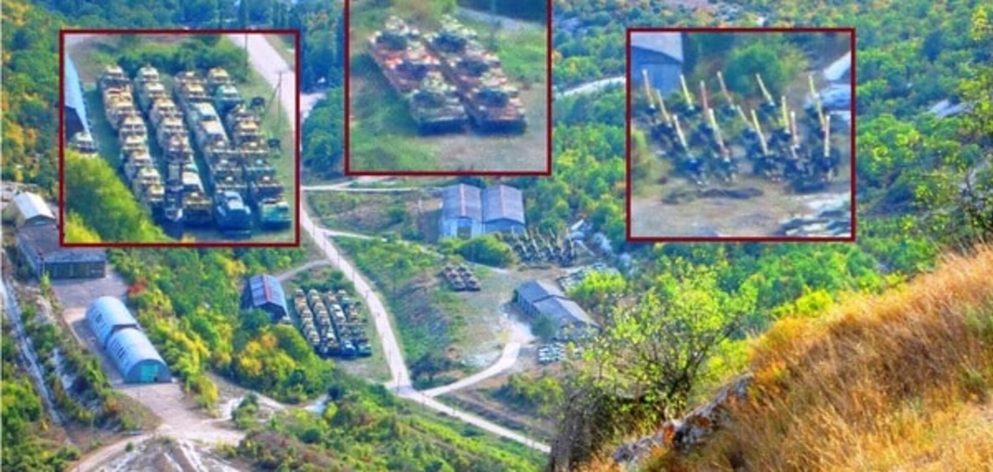 У Криму виявлено місце зберігання захопленого окупантами українського озброєння