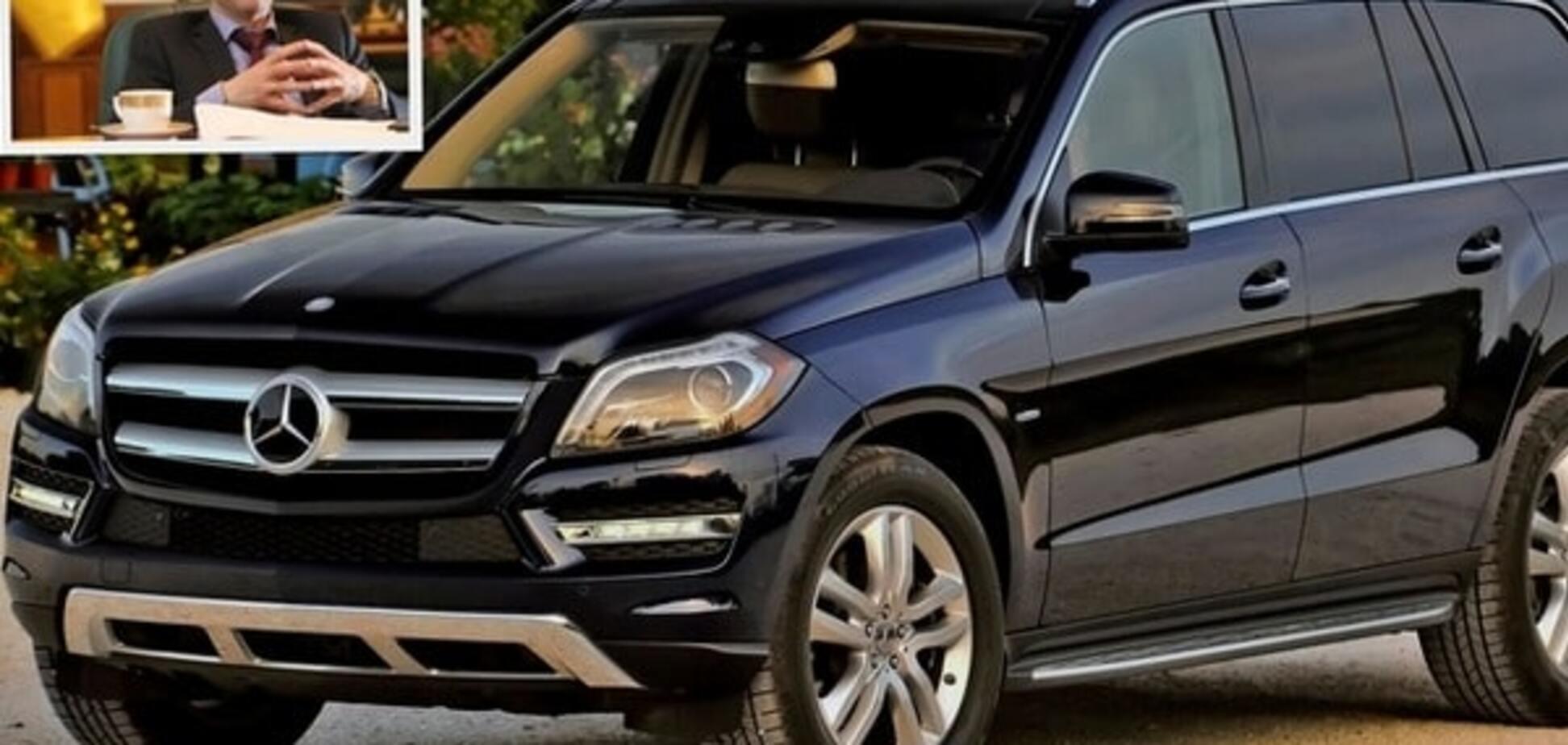 СМИ: у Пашинского появился Mercedes за 3,5 млн грн. Опубликованы фото, видео