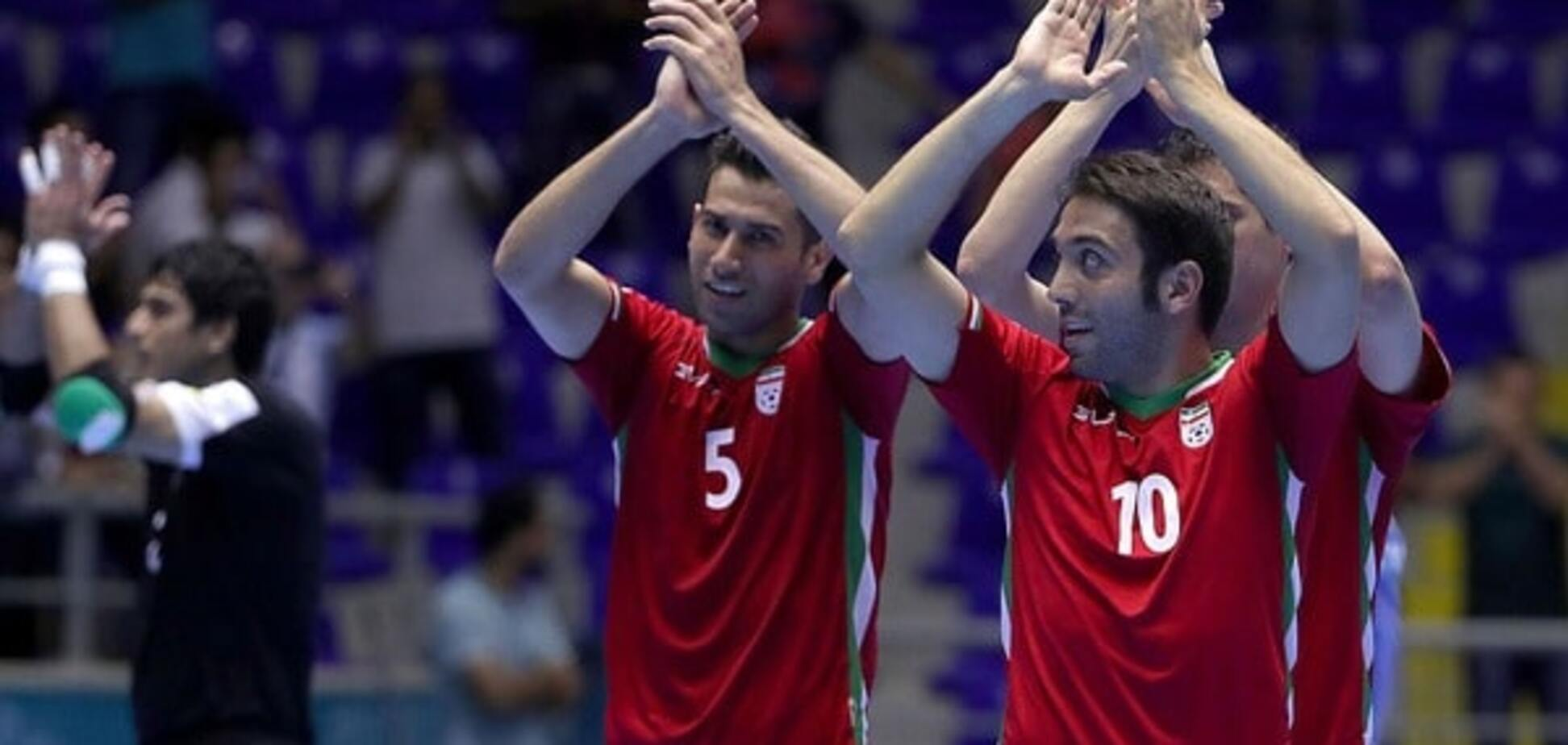 Іран шокував Бразилію на чемпіонаті світу з футзалу